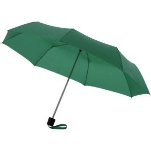 Ida 21.5 összecsukható esernyő, zöld