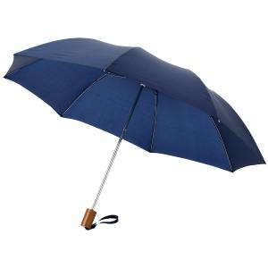 Oho 20-es összecsukható esernyő, sötétkék